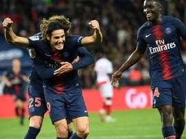 Les compos probables du match de Ligue 1 entre Reims et le PSG. AFP
