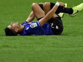 Ligue 1: Atal indisponible entre 3 et 5 mois à Nice. AFP