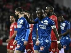 Dijon sanctionné après cris raciste. AFP