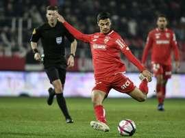 Dijon prête Loiodice à Wolverhampton. AFP