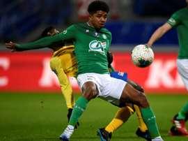 3e offre de Leicester pour Wesley Fofana. AFP