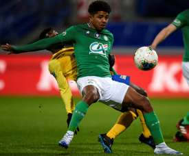 Wesley Fofana could be signed by Leicester. AFP