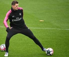 Thomas Meunier aparece no radar de Inter e Juve. AFP