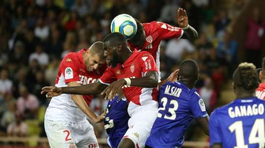 Bakayoko croit en une qualification de Monaco en Champions League. AFP