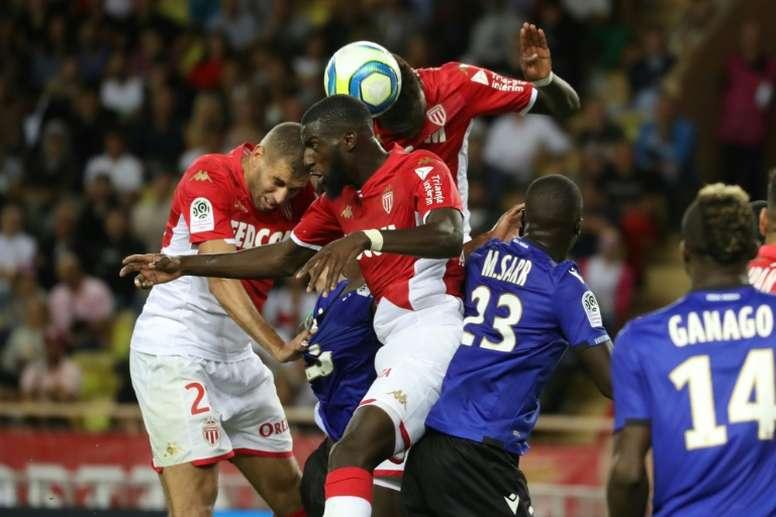 Bakayoko croit en une qualification de Monaco en Champions League. AFP