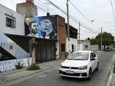Rosario rêve toujours au retour de Messi à la maison. AFP