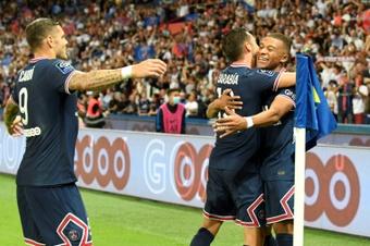 Le Paris Saint-Germain s'impose contre Strasbourg. AFP
