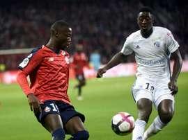 El Lille quiere seguir soñando. AFP