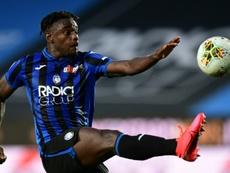 L'Atalanta solide face à l'AC Milan. afp