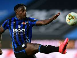 Zapata to decide on his future after the Champions League. AFP