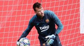 Neto veut rester au Barça. AFP