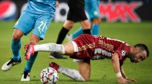 Valbuena analyse le match de l'OM. AFP
