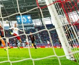 Leipzig a remporté sa rencontre. AFP