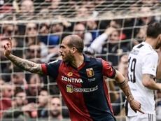 Le Genoa surprend la Juventus avec notamment un but de Stefano Sturaro au stade Luigi-Ferraris. AFP