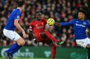 Neither Messi nor Van Dijk: Sadio Mane's golden performance at Anfield. AFP