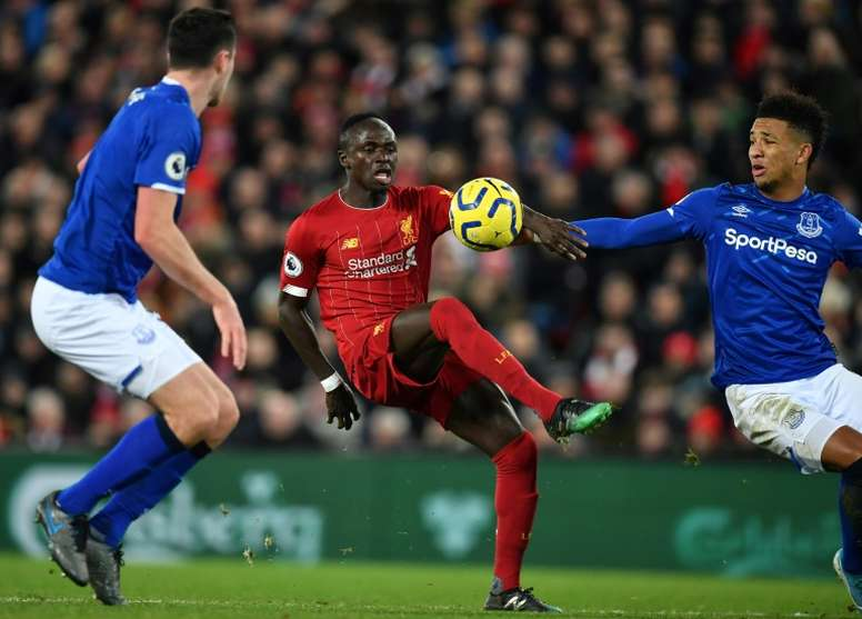 Neither Messi nor Van Dijk: Sadio Mane's golden performance at Anfield. AFP