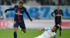 Dimitri Payet, Boubacar Kamara et Bouna Sarr suspendus au prochain match. afp