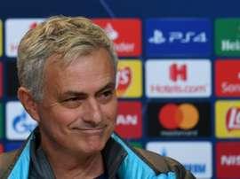 Mourinho non teme gli ottavi di finale. AFP