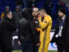 Lyon pris de malaise avec ses ultras. AFP