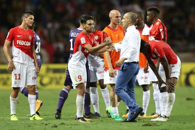 L'entraîneur de Monaco Leonardo Jardim. AFP