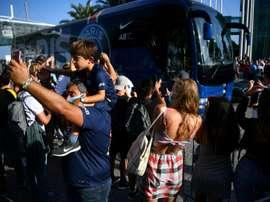 Ambiance timide à Lisbonne pour le coup d'envoi du Final 8. AFP