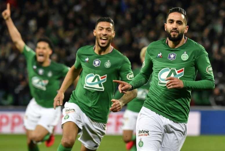Boudebouz deja sin final al vigente campeón con nocturnidad y agonía. AFP