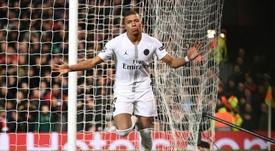 El PSG ganó en Old Trafford. AFP