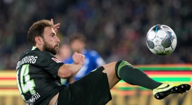 Wolfsburg manque le podium. AFP