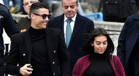 Georgina Rodriguez, la femme de Cristiano Ronaldo. AFP