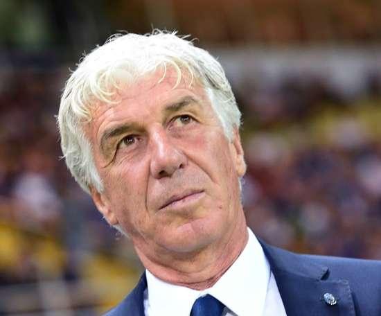 Gian Piero Gasperini, l'entraîneur de l'Atalanta, avoue avoir 'pensé à la mort'. AFP