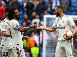 La donnée qui confirme la grande influence de Benzema à Madrid. AFP