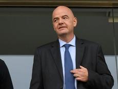 La Fifa promet plus de terrains de foot pour les Palestiniens. AFP