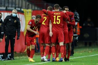 Mertens analizó el encuentro ante Italia. AFP