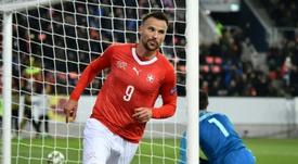 Seferovic attire Everton et Southampton. AFP