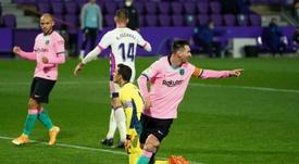 Toujours en Argentine, Leo Messi manquera Barça-Eibar. AFP