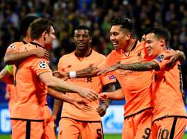 Liverpool won the reverse fixture 7-0. AFP