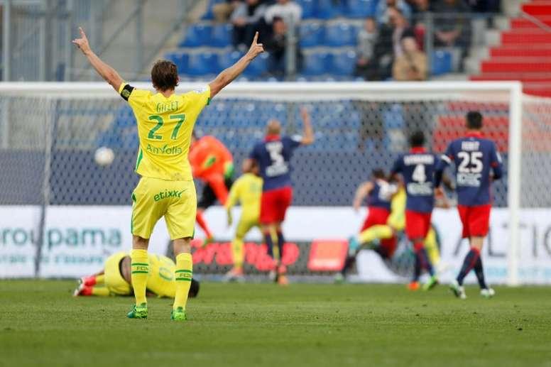 Caen reçoit Nantes. AFP