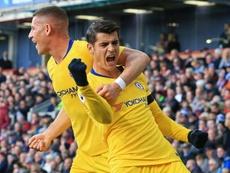 Le joueur de Chelsea Alvaro Morata. AFP