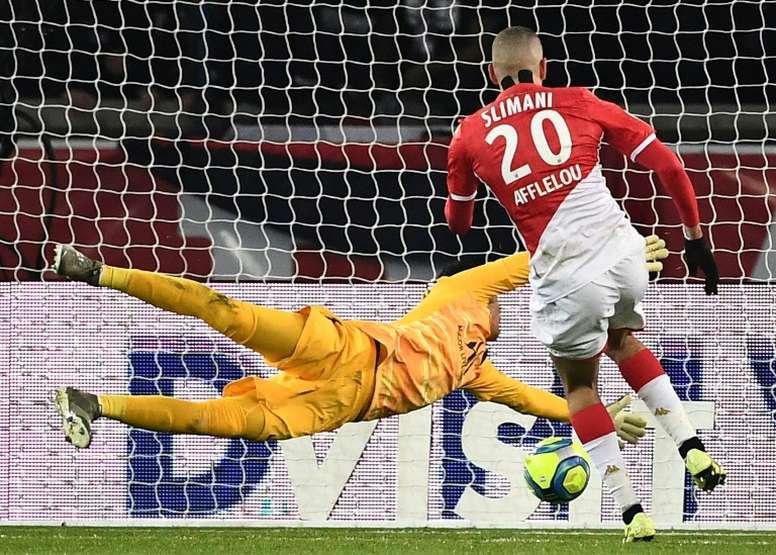 Slimani rejoue avec Moreno, Monaco sourit à nouveau. AFP