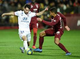 Suivez en direct Lyon - Juventus. AFP