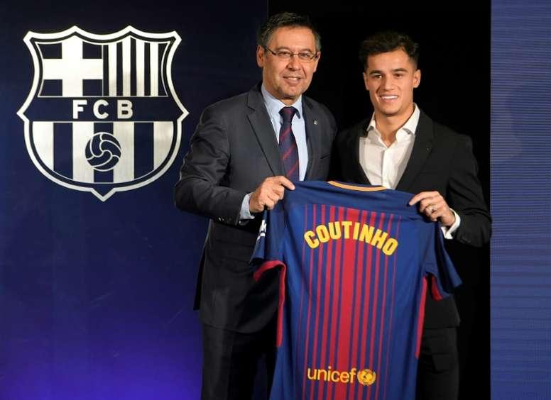 Coutinho connait enfin son numéro. AFP
