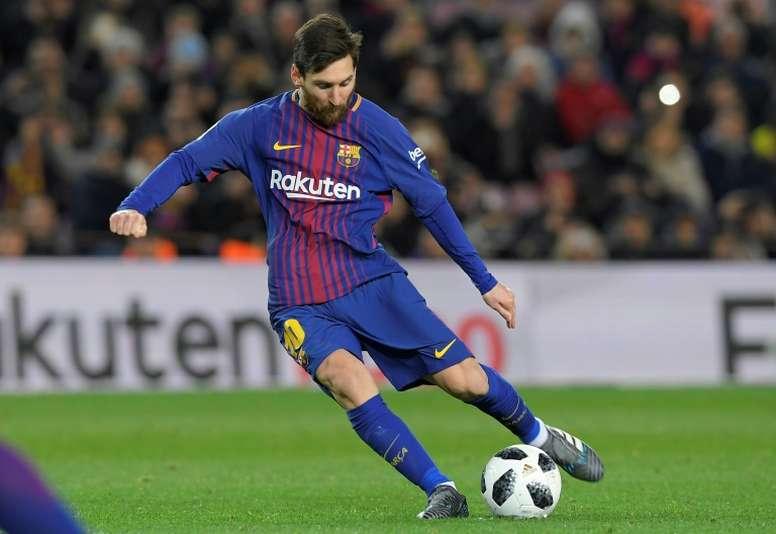 Todo el mundo sabe cómo se dice 'Messi', pero 'Lionel' se le atraganta a muchos angloparlantes. AFP
