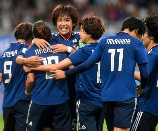 Le Mondial est pour le Japon. AFP