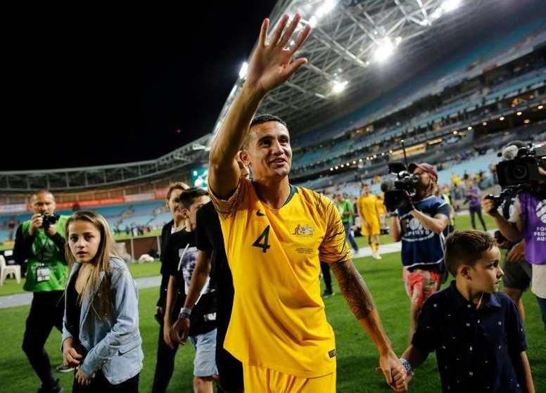 Tim Cahill dira adieu au football en fin de saison. AFP
