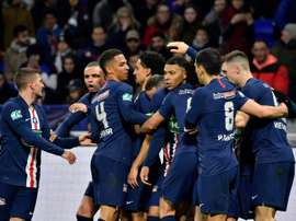 The French league are aiming to return in June. AFP