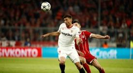 Sevilla have made a last-ditch effort to keep Lenglet. AFP