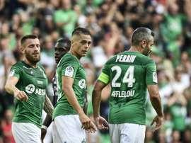 Les compos probables du match de Ligue 1 entre Angers et Saint-Étienne. AFP