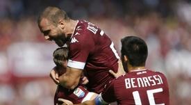 El Torino se fija en Vicenzo Grifo. AFP