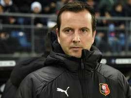 'Tout est positif au Stade rennais aujourd'hui'. AFP