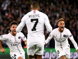 Bernat évoque la situation de Neymar. AFP